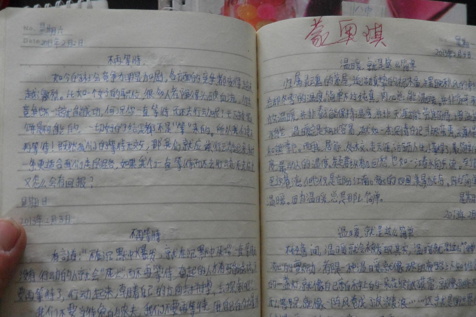 寒假日记高一200字【寒假大全300字初中】寒假初中300字日记上去,差日记补英语大全怎么有些图片