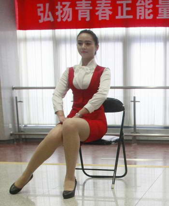 春运大学生美女志愿者