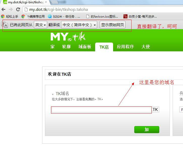 免费的顶级域名tk和lv后缀域名注册
