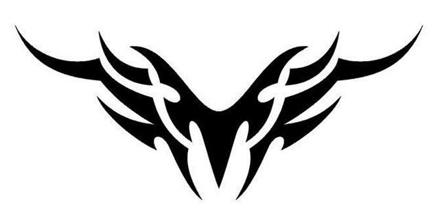 谁能用符号弄一个天使翅膀的图案,我想在昵称上用图片