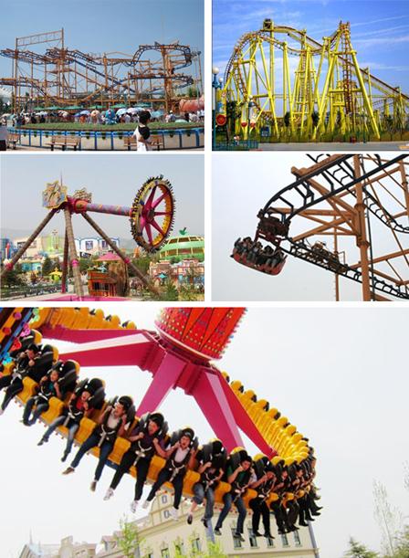 郑州方特世纪欢乐园 郑州世纪欢乐园跟方特 郑州方特欢乐园全景图片