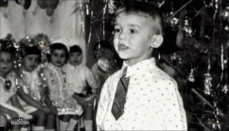童年的舍甫琴科