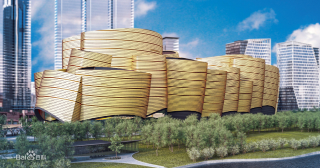 武汉万达电影乐园建筑效果图