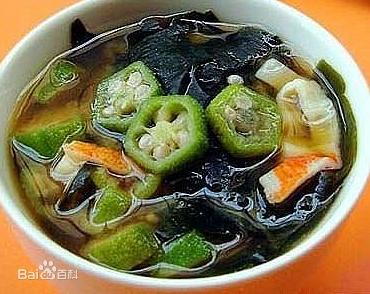 昆布海藻煲黄豆