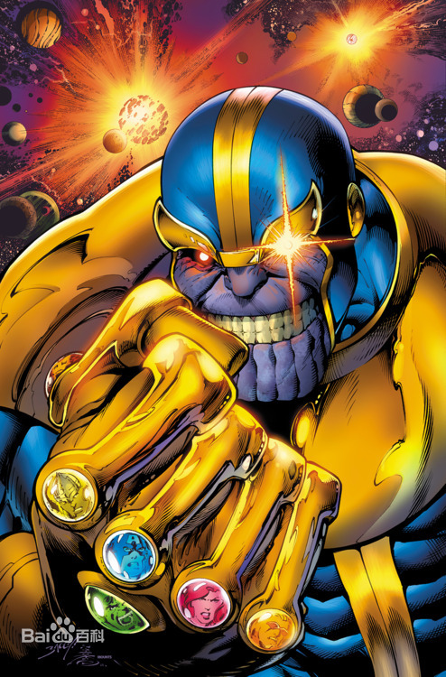 Anime Characters Vs Thanos : 灭霸图片 百度百科