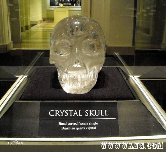 玛雅水晶头骨 高清图片