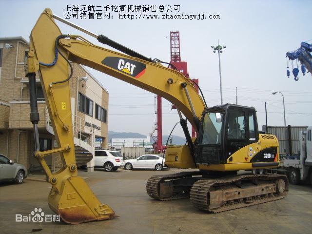 上海远航二手挖掘机械销售总公司图片 高清图片