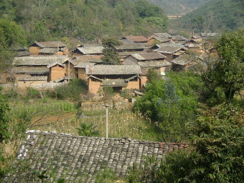 小坝子上寨村图片