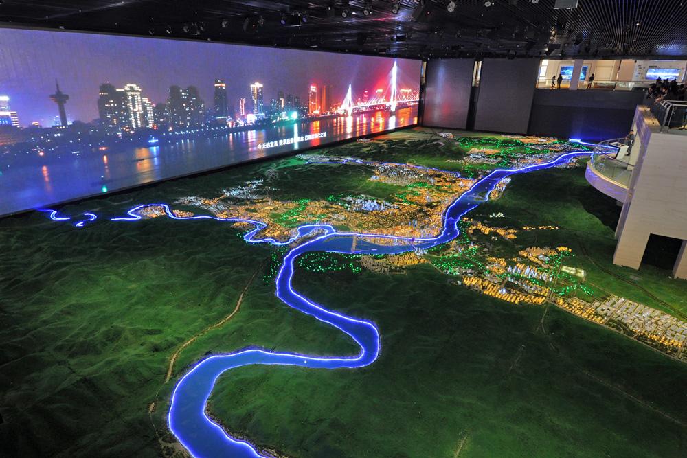 宜昌规划展览馆,又称宜昌市城市规划展览馆,位于宜昌东站片区柏临河路图片