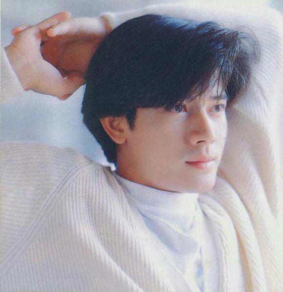 """其""""郭富城头""""发型也成为90年代流行文化.图片"""