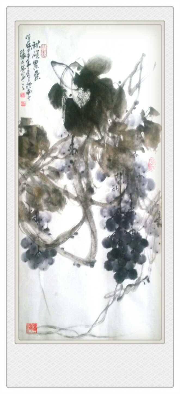 张大林最新创作国画作品欣赏图片