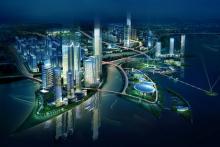 正在建造的泉州新城