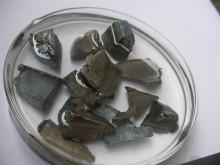 保存在液体石蜡中的金属钡
