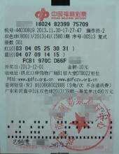 中国福利彩票双色球
