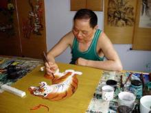 老虎画师牟秉衡