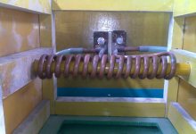 高频焊丝烘干设备使用现场