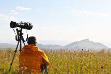 风光摄影的前景角度选择十分重要