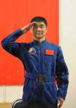 著名宇航员刘伯明生活照