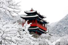 雪后居庸关