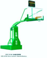 电动液压篮球架图片
