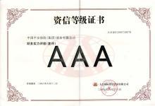 信用等级证书截图(2)