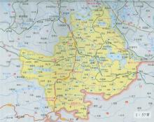 阳新县地图
