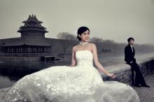 后海婚纱照-《后海胡同》
