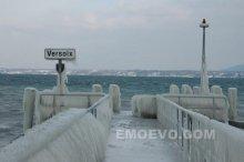 绝美震撼的瑞士冰雾奇观
