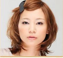 中短发发型DIY图片