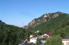 九山顶自然风景区风光