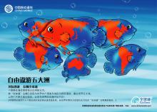 中国移动平面广告设计