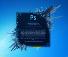 Photoshop CC启动界面