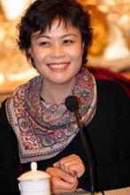 当代著名作家、中国作家协会主席--铁凝