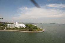 岳阳南湖宾馆航拍图