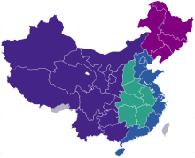 中国地理区划图片
