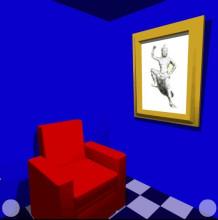 天蓝色房间