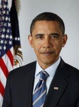 现任总统贝拉克·奥巴马