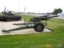 M114式155mm榴弹炮