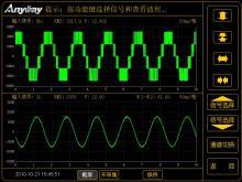 典型的变频电量波形图