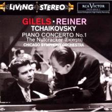 吉列尔斯录制的柴可夫斯基钢琴协奏曲CD封面