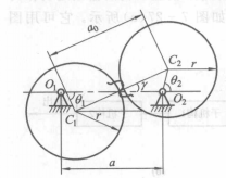 根据齿廓啮合基本定律,一对作变传动比传动的齿轮,其节线不再是一个圆图片
