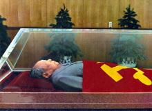 毛主席水晶棺