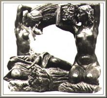 穆希娜雕塑《粮食》
