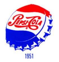 百事可乐1951年logo图片
