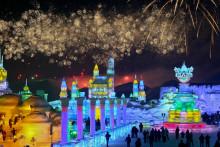 哈尔滨第十四届冰雪大世界风景