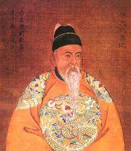 汉光武帝晚年画像