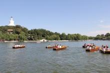 北海公园划船