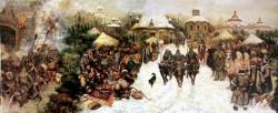 拔都在伏尔加河下游建立金帐汗国