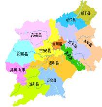 吉安市行政区划