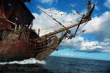 10wallpaper 影视 壁纸 2011年影视加勒比海盗4惊涛骇浪壁纸 >>壁纸